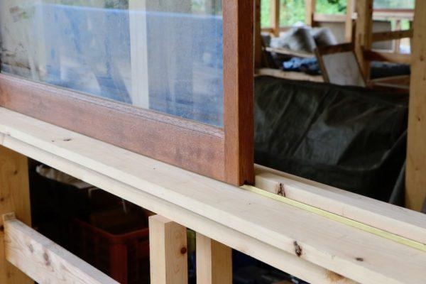 木製サッシは再利用品