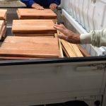 蜂蜜箱用の材料がヒノキだとダメな理由。